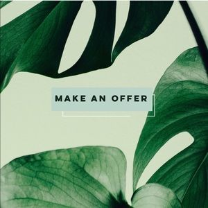 Other - MAKE ME AN OFFER OR BUNDLE TO SAVE!